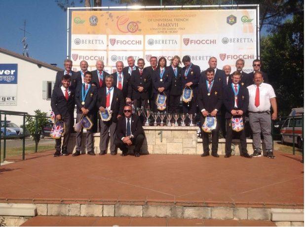 Championnat d'Europe à Lonato «Murielle Ecolasse et Daniel Chayoux médaille de Bronze par équipe