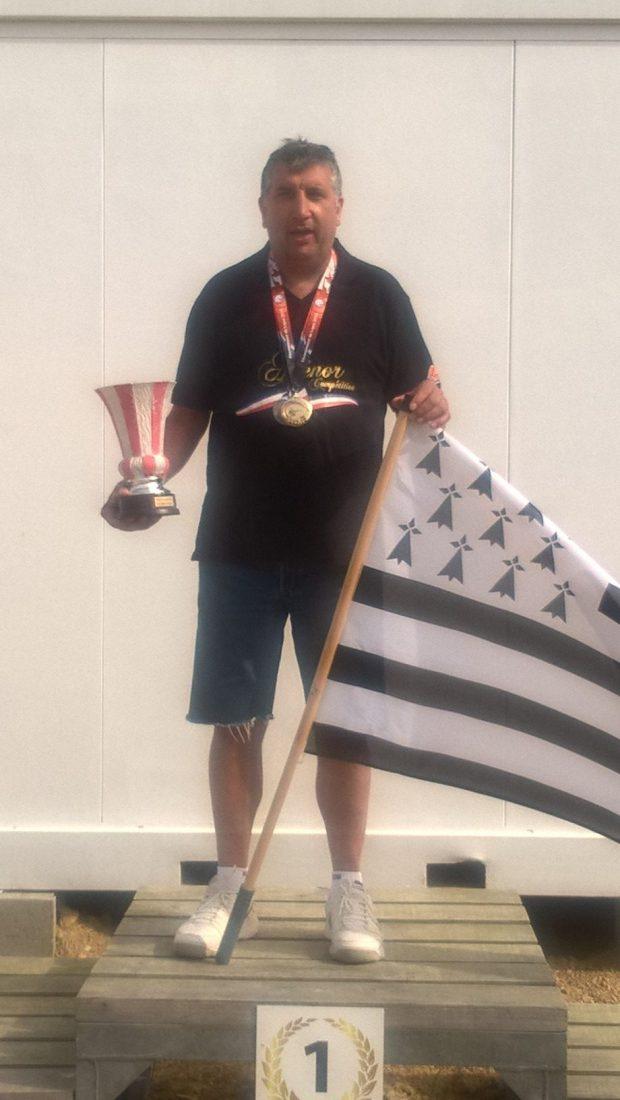 «Georges De Araujo champion de Bretagne DTL avec le score de 293/300»