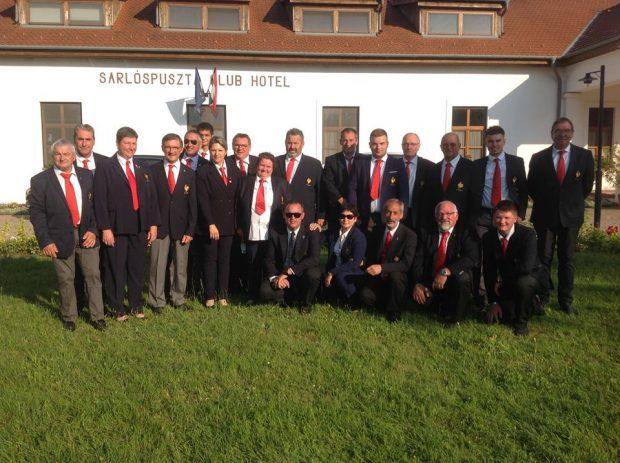 36éme coupe du monde Fosse Universelle à Sarlospuszta (Hongrie)