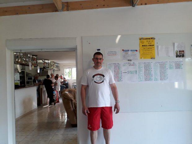 «KEVIN REBOUX» grand vainqueur du concours du BTCHB avec 98/100, il devance Jean Philippe Royere 98/100 et Pascal Evrard 97/100