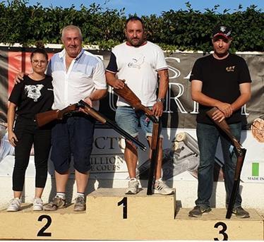 Hervé Boivin vainqueur  au grand prix d'Oyonnax 191/200 devant Jean François Reboux 189/200