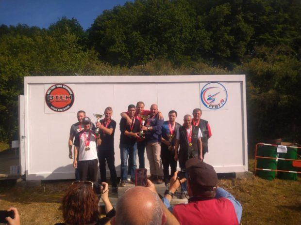 Championnat de Bretagne DTL «Bertrand QUER»s'impose sur le score de 295/300