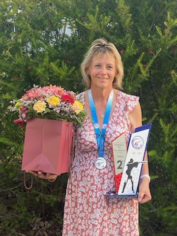 Championnat de France fosse universelle à Ychoux «Murielle Ecollasse (BTCHB) vice championne de France